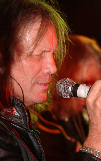 Get Ready To Rock Interview With Pete French Singer With