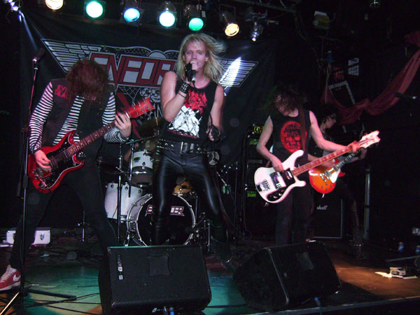 Get Ready To Rock Review Of Metal Rock Bands Enforcer And